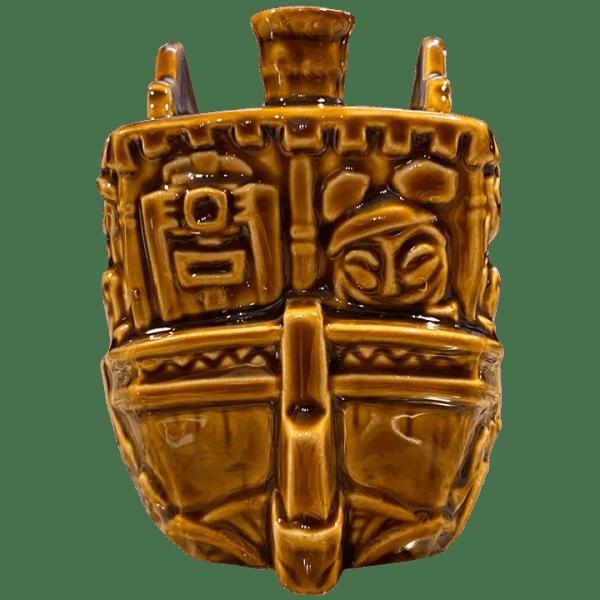 Back of Jungle Cruise Boat Mug (Congo Queen) - Trader Sam's Enchanted Tiki Bar - 1st Edition