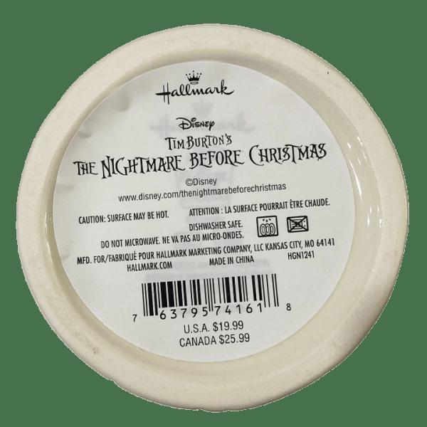 Bottom - Jack Skellington Mug (The Nightmare Before Christmas) - Hallmark - Open Edition