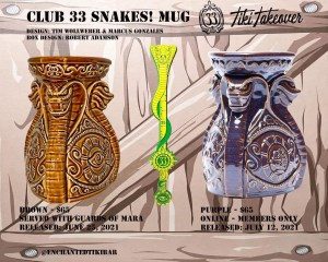 Club 33 Snakes Mugs