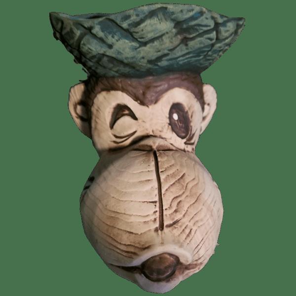 Front - Beachcomber Monkey Mug - Tikiland Trading Co. - Limited Edition