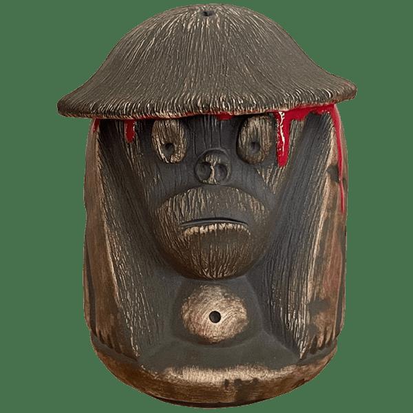 Front - Coconut Monkey Stacker Mug - Munktiki - Lava Drip Edition