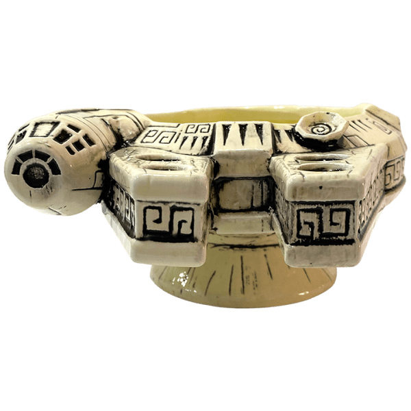 Front - Millennium Falcon Punch Bowl (Star Wars) - Geeki Tikis - 1st Edition