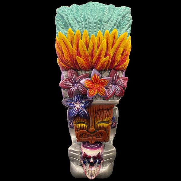 Front of Queen Towanda 2.0 - Towanda Tikis - Hand Painted Tiki Oasis San Diego 2021 Edition 24