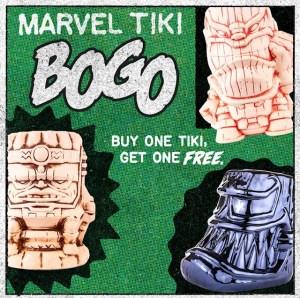 Mondo Marvel Tiki Mug BOGO