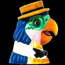 Side - Barker Bird - Trader Nic's - Acrylic Edition