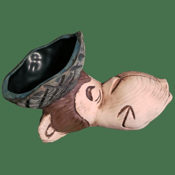 Side - Beachcomber Monkey Mug - Tikiland Trading Co. - Limited Edition