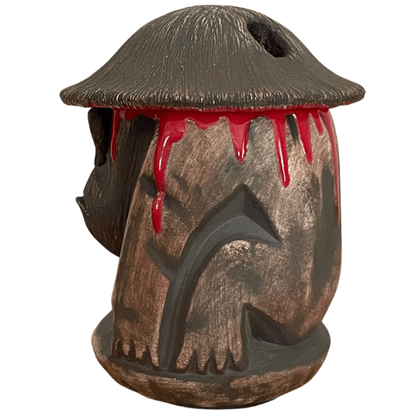 Side - Coconut Monkey Stacker Mug - Munktiki - Lava Drip Edition
