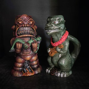 Tikizilla vs Taboo Planet by Tiki Maniacs