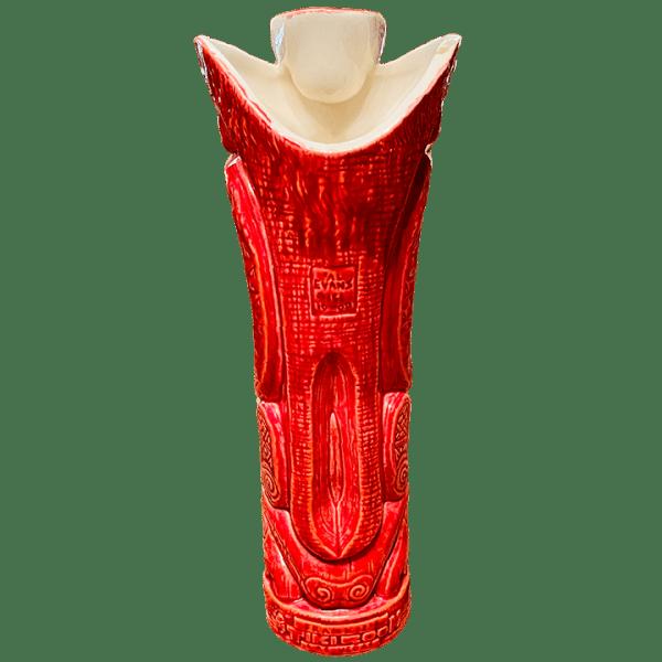 Back - Crazy Al High Roller (1st Anniversary Mug) - Frankie's Tiki Room - Inferno Red Edition