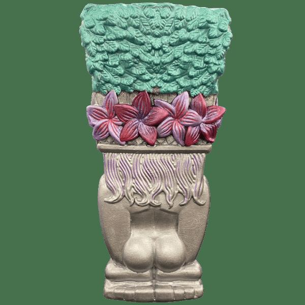 Back - Queen Towanda 2.0 - Towanda Tikis - Hand Painted Tiki Oasis San Diego 2021 Edition 24