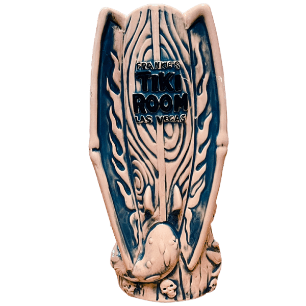 Back of Surf Dragon - Frankie's Tiki Room - Light Blue Edition