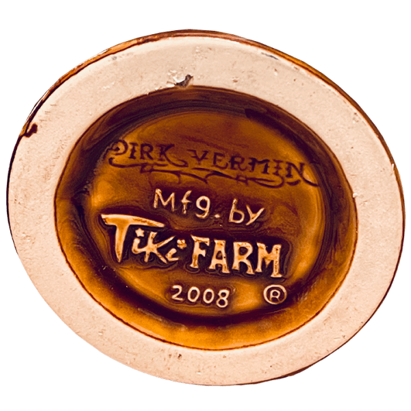 Bottom - Bearded Clam - Frankie's Tiki Room - Brown Edition