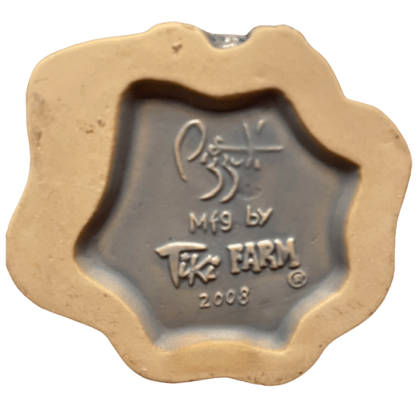 Bottom - Bombora's Blast Mug - Frankie's Tiki Room - Grey Tiki Edition