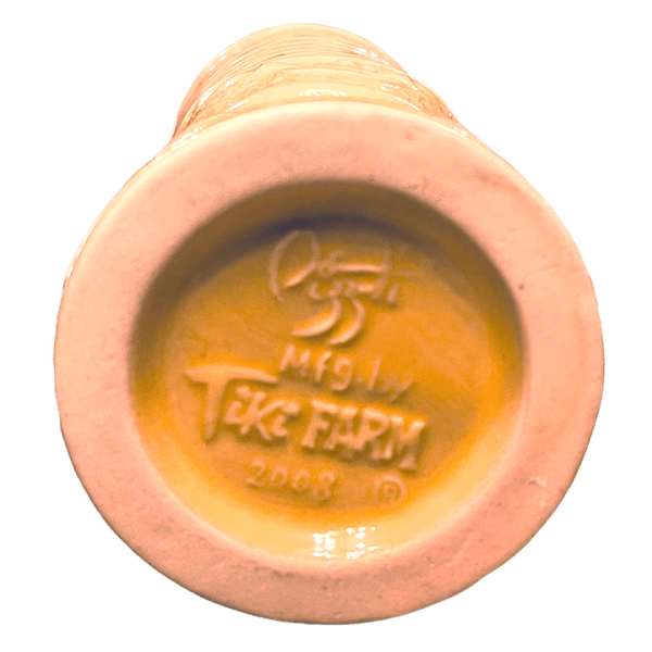 Bottom - Kahiki Kai Tiki Mug - Frankie's Tiki Room - Yellow Edition