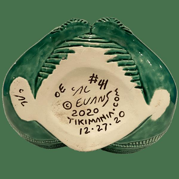 Bottom - Maori Hei Tiki Mug - Crazy Al - Open (Green Stone) Edition