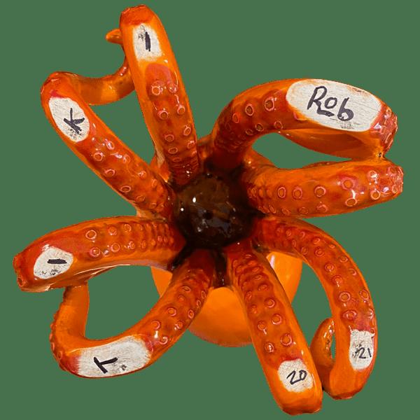 Bottom - Octo-Mokai Tiki Mug - TikiRob - Tiki Oasis San Diego 2021 Art Show Edition