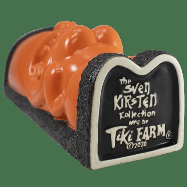 Bottom - Power of Pele Decanter - Tiki Farm - Black and Orange Edition