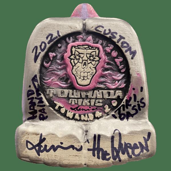 Bottom - Queen Towanda 2.0 - Towanda Tikis - Hand Painted Tiki Oasis San Diego 2021 Edition 24