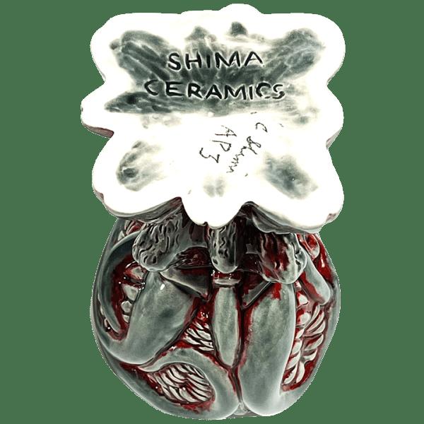 Bottom - Shub-Niggurath Chalice - Shima Ceramics - Artist Proof #3