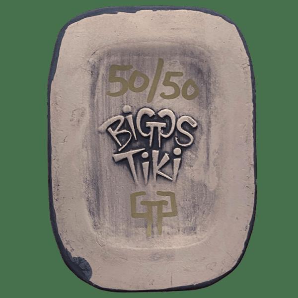 Bottom - Swamp Creeper Mug - Biggs Tiki - 2nd Edition (Purple Bumper Car)