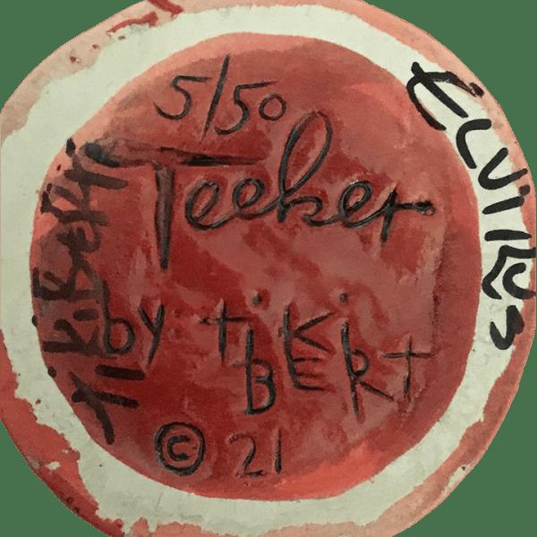 Bottom - Teeker (8th Anniversary Mug) - Ventiki - Red Edition
