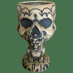 Front - 2021 Tiki Bash Mug (Monkey Supporting Skull) - Cutwater Spirits - 1st Edition