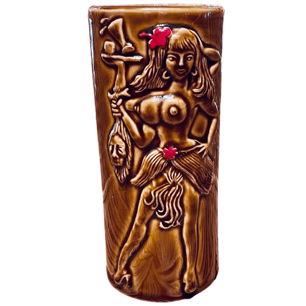 Front - Bearded Clam - Frankie's Tiki Room - Brown Edition