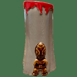 Front - Bombora's Blast Mug - Frankie's Tiki Room - Brown Tiki Edition