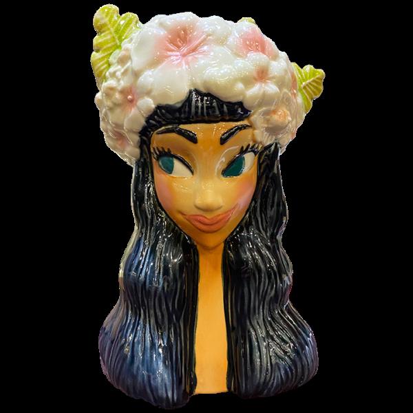 Front - Floral Tiki Goddess - Tikiland Trading Co. - 1st Edition