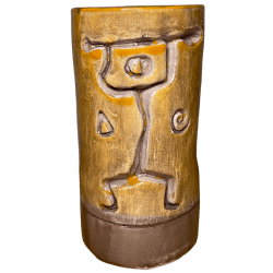 Front - Hawaiian Village Tapa Punch Mug - Kon-Tigo - Harry Yee Tribute Edition