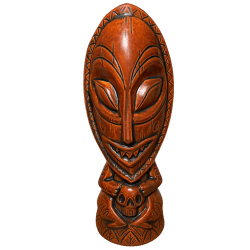 Front - Head Salesman Artist Series Tiki Tum - Lost Temple Traders - 2nd Edition