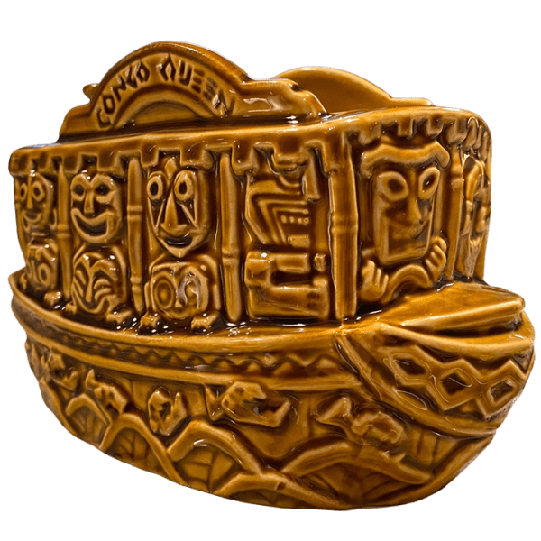 Front - Jungle Cruise Boat Mug (Congo Queen) - Trader Sam's Enchanted Tiki Bar - 1st Edition