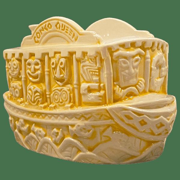 Front - Jungle Cruise Boat Mug (Congo Queen) - Trader Sam's Enchanted Tiki Bar - Limited Edition