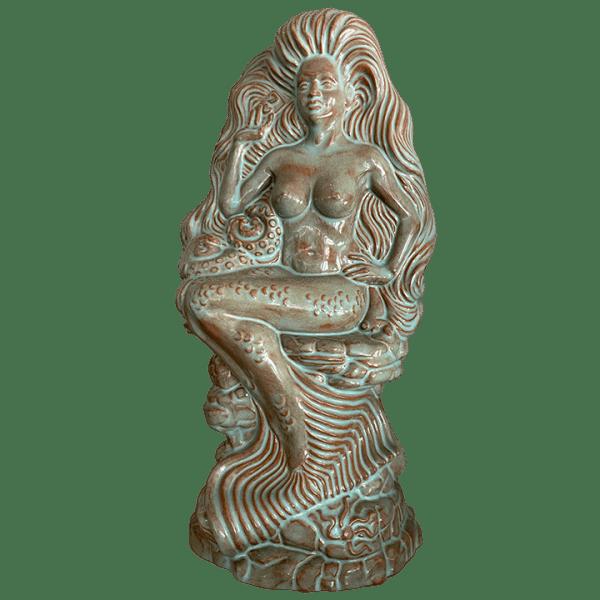 Front - Modest Mermaid (7th Anniversary Mug) - Frankie's Tiki Room - Shipwreck Red Edition