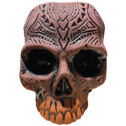 Front - Shrunken Skull Tiki Mug - Shima Ceramics - Artist Proof #31