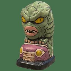 Front - Swamp Creeper Mug - Biggs Tiki - 2nd Edition (Purple Bumper Car)