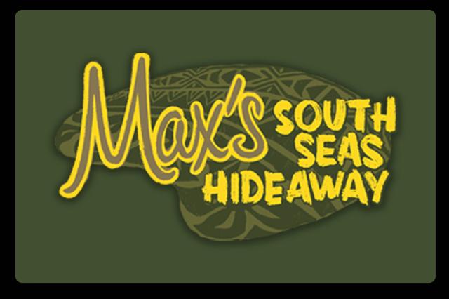 Max's South Seas Hideaway Bar Logo
