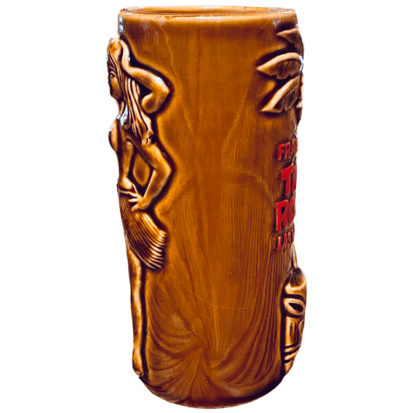 Side - Bearded Clam - Frankie's Tiki Room - Brown Edition