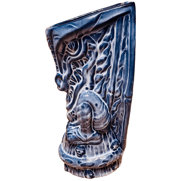 Side - Ghost Dragon (8th Anniversary Mug)- Frankie's Tiki Room - Limited Edition