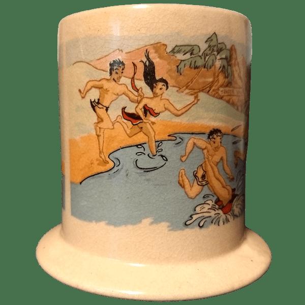 Side- Honi Honi Mug - Trader Vic's - 1st Edition