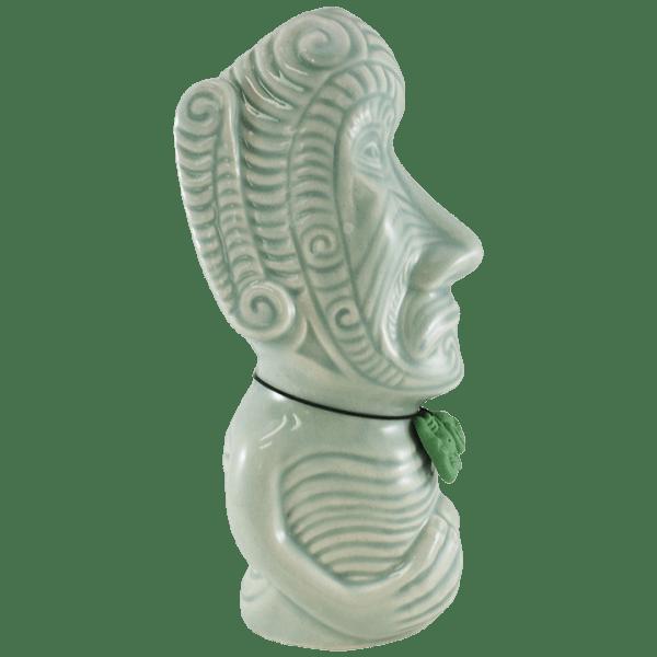 Side - Moko Moai Tiki Mug - Tiki Farm - Benzart Commemorative Edition
