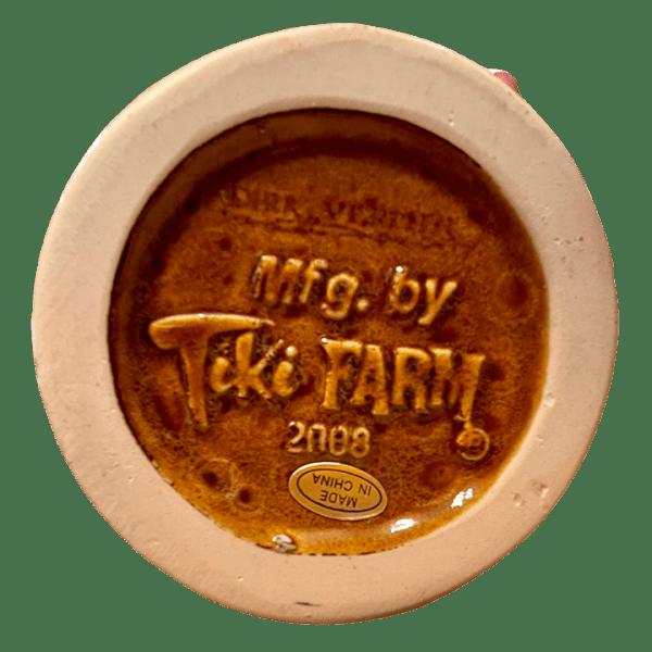 Bottom - Bearded Clam - Frankie's Tiki Room - XL White Edition