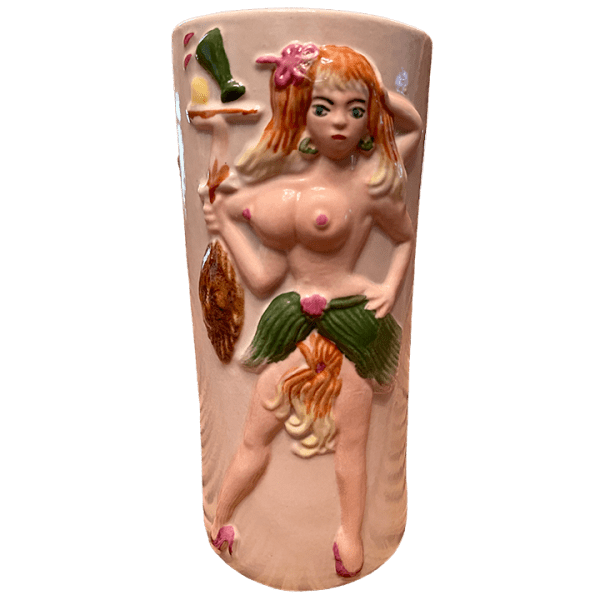 Front - Bearded Clam - Frankie's Tiki Room - XL White Edition