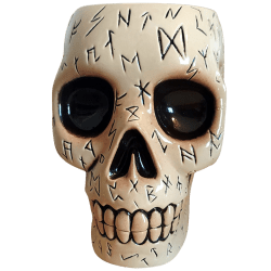 Front - Runed Skull - Ohana is Dead - 1st Edition (Bone)