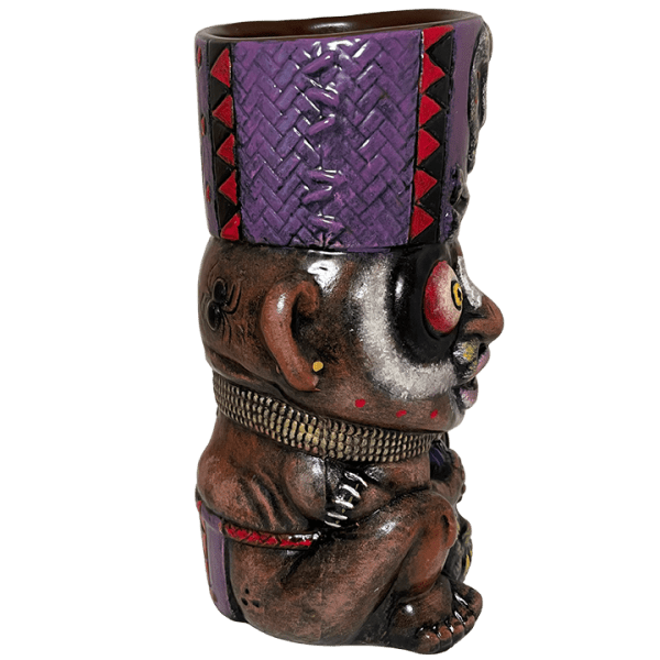 Side - Kaduku Witch Doctor Mug - Lost Temple Traders - Faust Edition