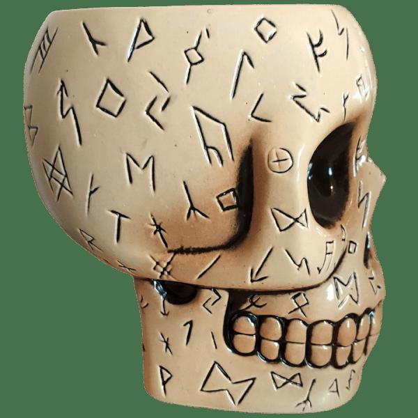 Side - Runed Skull - Ohana is Dead - 1st Edition (Bone)