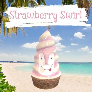 Strawberry Swirly Bob By Lost Temple Traders