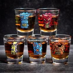 Tiki Shot Glass Jiggers Designed By BigToe