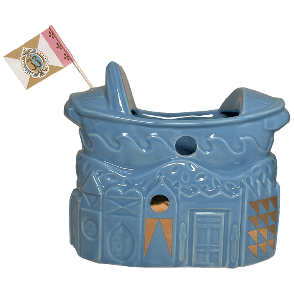 Back - It's A Small World 55th Anniversary Boat Bowl - Club 33 - 2nd Edition (Blue)
