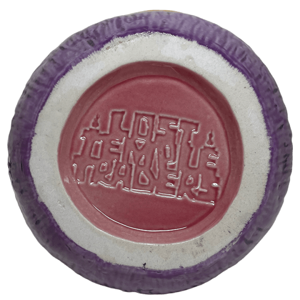 Bottom - Mad Tiki Cup - Lost Temple Traders - Purple and Yellow Edition